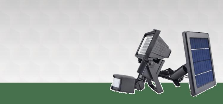 eclairage projecteur lampe solaire solutionby sun