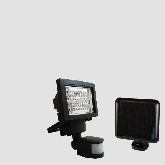 detecteur de mouvement projecteur solaire solution by sun